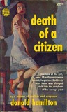 Death of a Citizen (Matt Helm, #1)