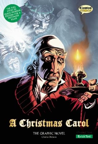 a christmas carol quick text the graphic novel british english