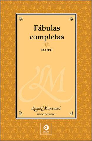 Fábulas completas by Aesop
