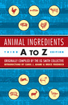 Animal Ingredients A to Z