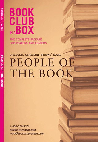 Bookclub-in-a-Box Discusses People of the Book, the novel by Geraldine Brooks