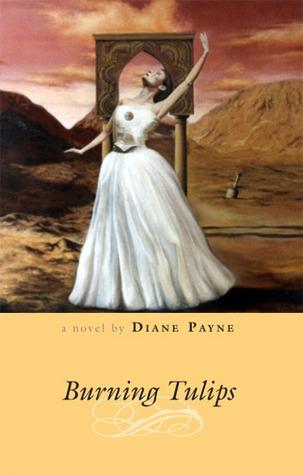 BURNING TULIPS by Diane  Payne