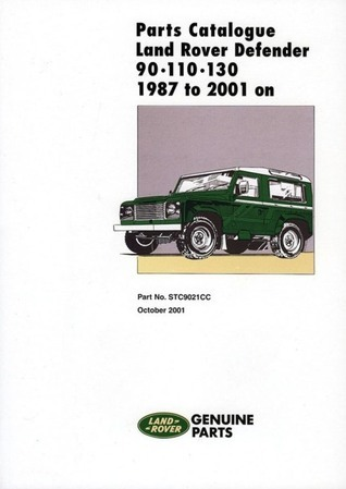 Parts Catalogue Land Rover Defender 90/110/130 1987 to 2001