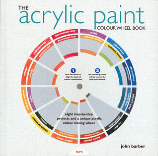 The Acrylic Paint Colour Wheel Book by John Barber