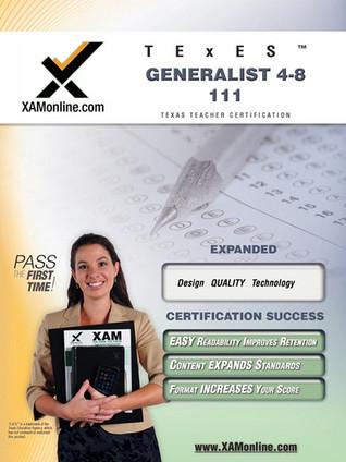 TExES Generalist 4-8 111 Teacher Certification Test Prep Study Guide ...
