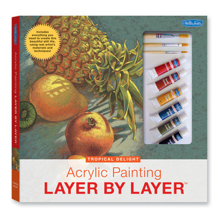 Acrylic Painting Layer by Layer: Tropical Delight Kit