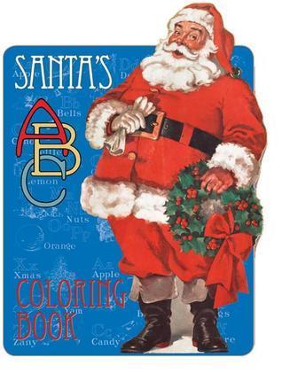 Santa's ABC Coloring Book