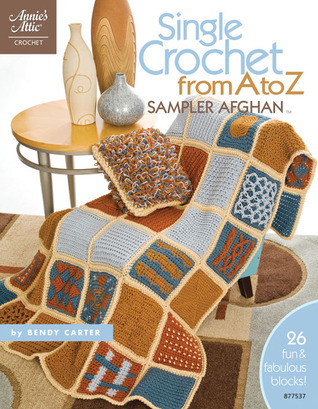 Single Crochet From A to Z Sampler Afghan