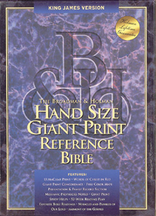 KJV Hand Size Giant Print Reference Bible