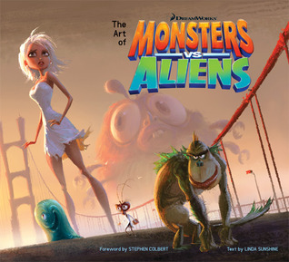 The Art of Monsters vs Aliens