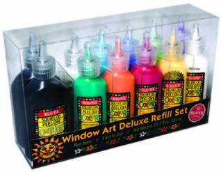 Novelty:   Window Art Deluxe Refill Set