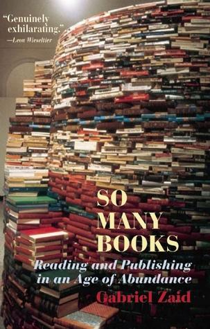 So Many Books by Gabriel Zaid