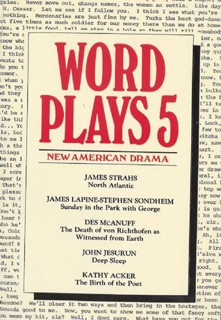 Wordplays Five: New American Drama