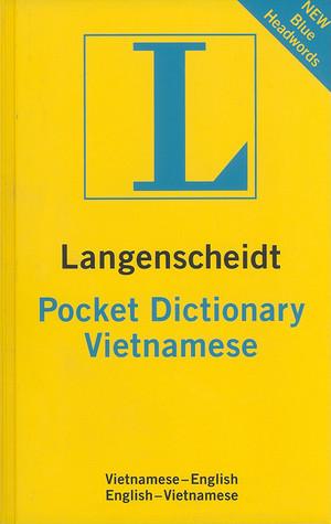 Langenscheidt's Pocket Vietnamese Dictionary: Vietnamese - English / English -vietnamese