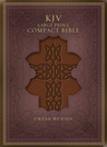 Download KJV Large Print Compact Bible, Brown Celtic Cross LeatherTouch
