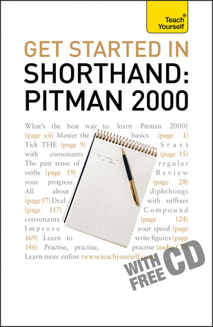 Get Started In Shorthand Pitman 2000