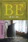 Be Rich (Ephesians) by Warren W. Wiersbe