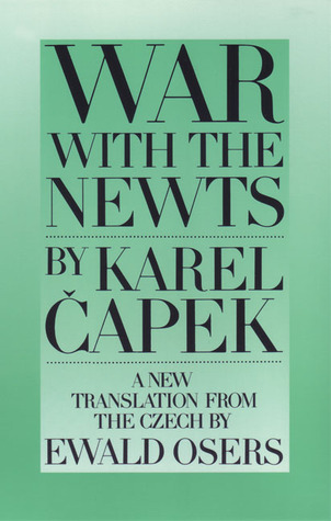 War With The Newts By Karel Apek