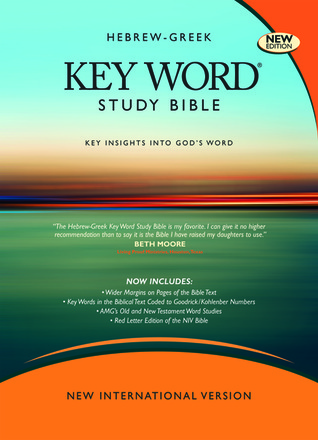 Holy Bible Hebrew Greek Key Word Study Bible Niv By Anonymous