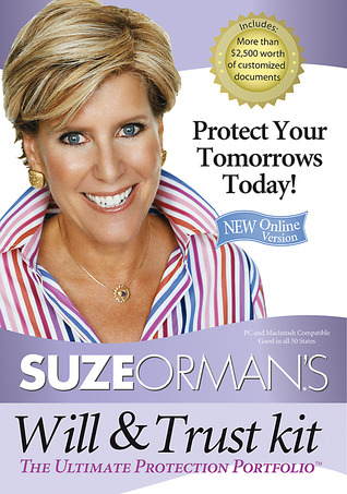 Suze Orman's Will  Trust Kit by Suze Orman
