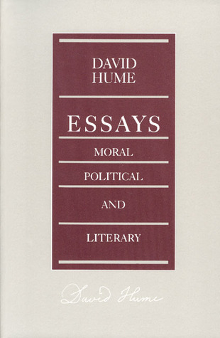 essays moral political and literary by david hume