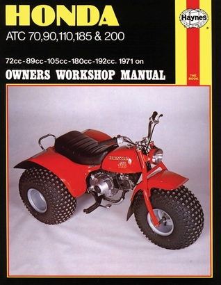 Honda ATC 70, 90, 110, 185 and 200 Owners Workshop Manual: '71-'82