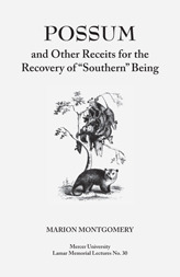 """Possum and Other Receipts for the Recovery of """"Southern"""" Being"""