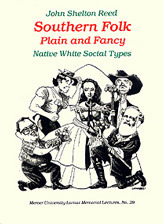 Southern Folk, Plain & Fancy: Native White Social Types