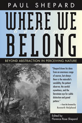 Where We Belong: Beyond Abstraction in Perceiving Nature