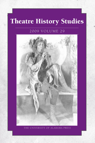 Theatre History Studies 2009, Vol. 29