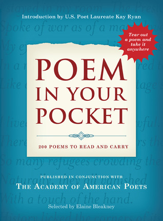 Poem in Your Pocket by Academy Of American Poets