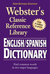 Webster's English-Spanish D...