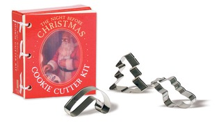 The Night Before Christmas Cookie Cutter Kit: Based on the Story by Clement C. Moore