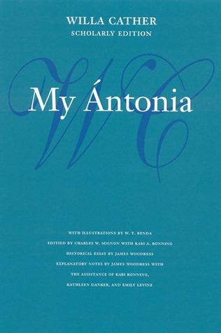 My Antonia(Great Plains Trilogy 3)