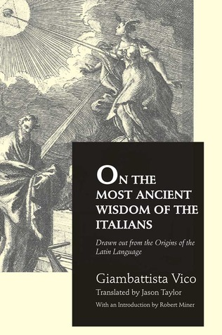 On the Most Ancient Wisdom of the Italians
