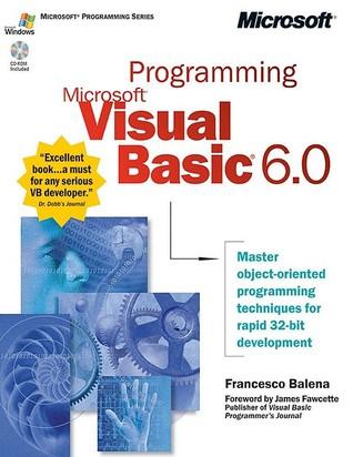 Programming Microsoft® Visual Basic® 6.0