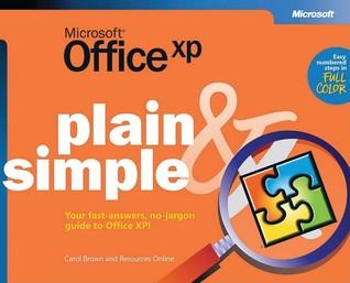 Microsoft® Office XP Plain & Simple