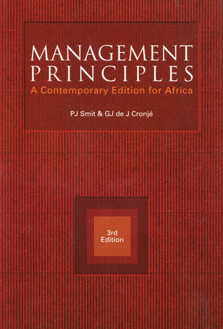 Management Principles: A Contemporary Edition for Africa
