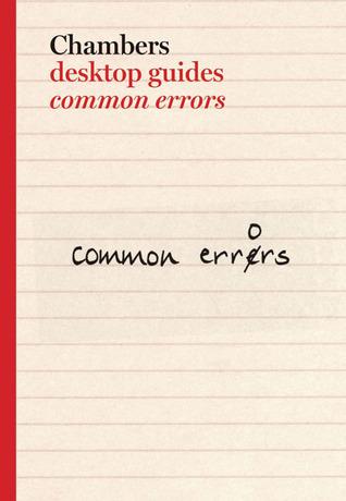 Common Errors in Spoken & Written English