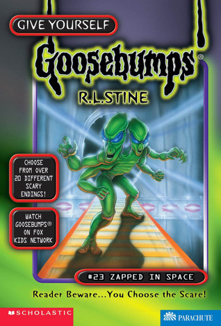 Zapped in Space by R.L. Stine