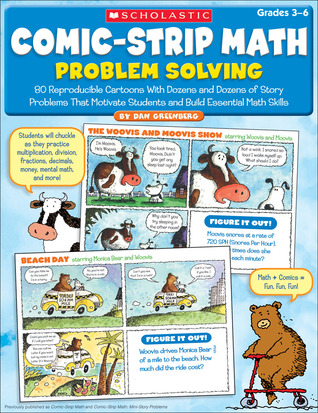 Comic-Strip Math: Problem Solving: 80 Reproducible Cartoons With ...