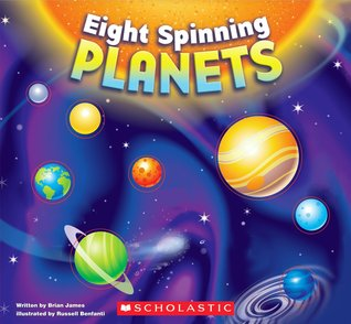 Eight spinning planets by Brian James