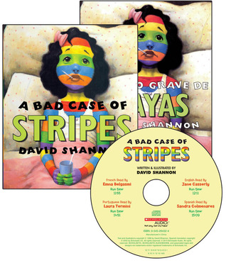 A Bad Case Of Stripes - Multilingual Audio