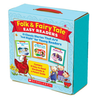 Folk  Fairy Tale Easy Readers Parent Pack: 15 Classic Stories That Are OJust RightO for Young Readers