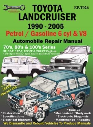 Toyota Landcruiser 1990-2005 Auto Repair Manual: Petrol/Gasoline 6 cyl & V8