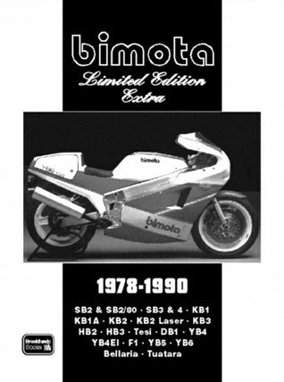 Bimota Limited Edition Extra 1978-1990