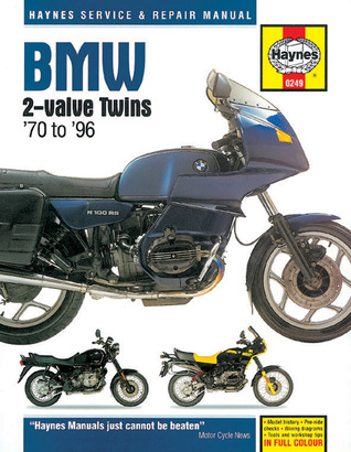 BMW Twin Motorcycles Owners Workshop Manual / 1970-1996