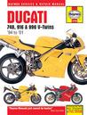 Ducati 748, 916 and 996 4-valve V-twins Service and Repair Manual: 1994 to 2001 (Haynes Service & Repair Manuals)