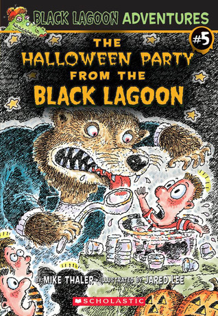 The Halloween Party from the Black Lagoon by Mike Thaler