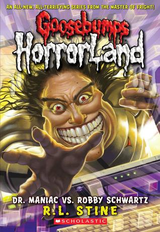 Goosebumps Horrorland Shelf